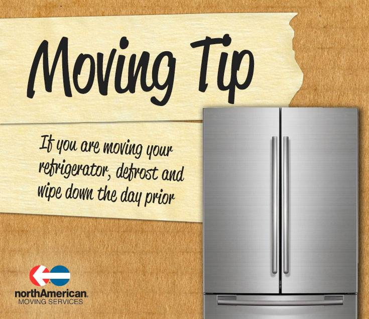 Moving Tip Monday: Refrigerator Moving