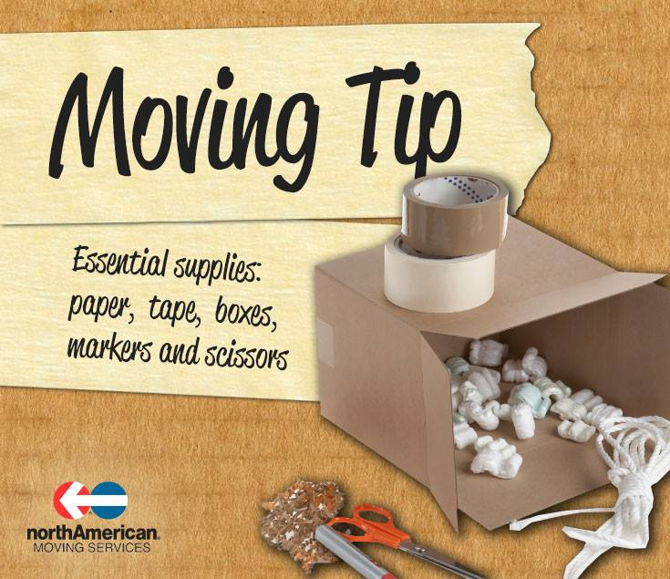 Moving Tip Monday: Buy All the Essentials