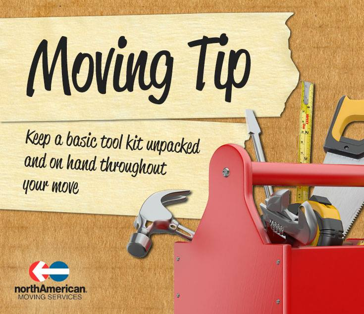 Moving Tip Monday: Keep Basic Tools Available