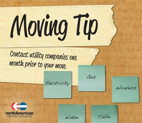 Moving Tip Monday: When to Contact Utilities