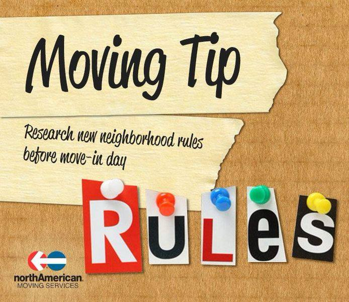 Moving Tip Monday: Neighborhood Rules