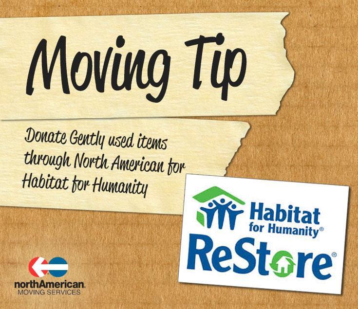 Moving Tip Monday: Donate Used Home Goods