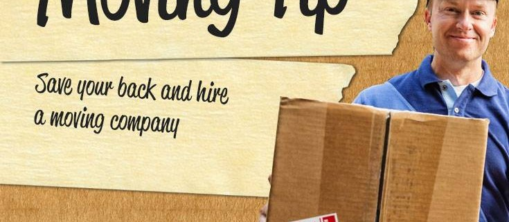 Moving Tip Monday: Save Your Back