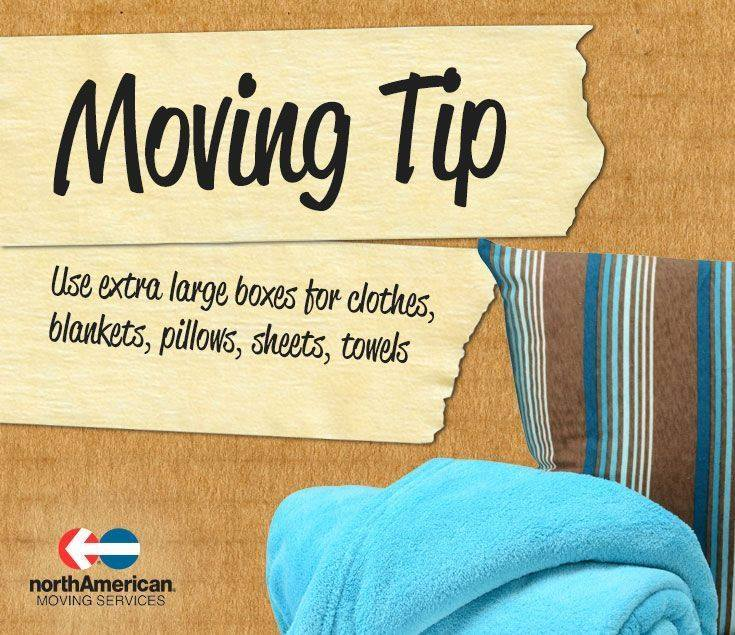 Moving Tip Monday: Packing Linens