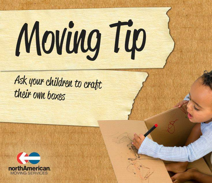 Moving Tip Monday: Get Your Kids Involved