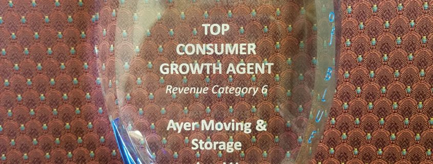 Top Consumer Growth Agent Awarded for Second Year